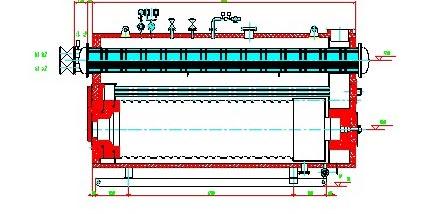 2mw燃油燃气真空锅炉性能优势及产品结构图