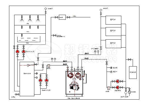 锅炉水箱结构图